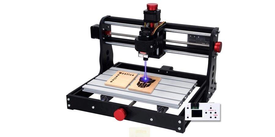 Comprar máquina de grabado CNC con volante Mostic
